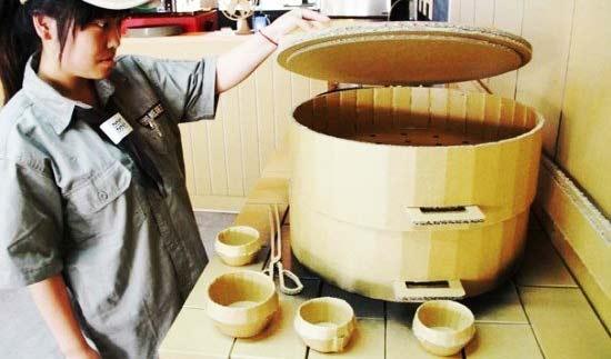 Как сделать сковородку из картона